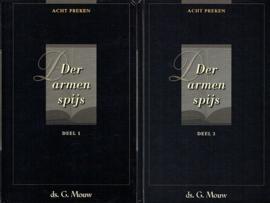 MOUW, G. - Voordeelpakket Der armen spijs - set 2 delen