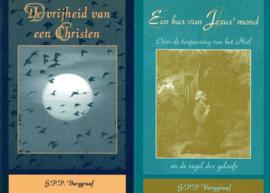 BURGGRAAF, G.P.P. - Voordeelpakket Een kus van Jezus' mond + De vrijheid van een Christen