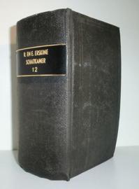 ERSKINE, R. en E. - Schatkamer van godgeleerde verhandelingen - deel 12