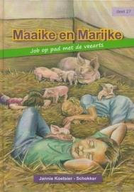 KOETSIER-SCHOKKER, Jannie - Maaike en Marijke 27 - Job op pad met de veearts