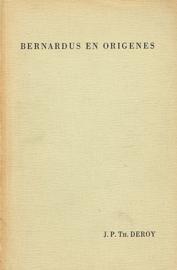 DEROY, J.P. Th. - Bernardus en Origenes