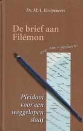 KEMPENEERS, M.A. - Pleidooi voor een weggelopen slaaf - de brief aan Filémon