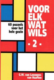 LEEUWEN-van HAAFTEN, G.W. van - Voor elk wat wils - deel 2