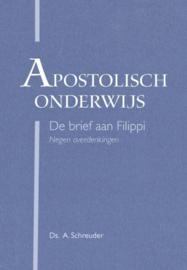 SCHREUDER, A. - Apostolisch onderwijs