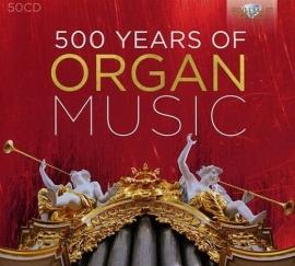500 Years of Organ Music - voordeelbox 50 CD's
