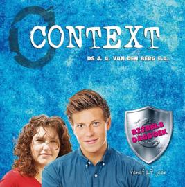 BERG, J.A. van den e.a. - Context - bijbels dagboek 17+ (licht beschadigd)