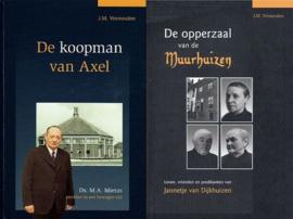 VERMEULEN, J.M. - Voordeelpakket De koopman van Axel + De opperzaal van de Muurhuizen