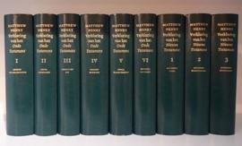 HENRY, M. - Verklaring van de Bijbel - 9 delen - met gratis atlas