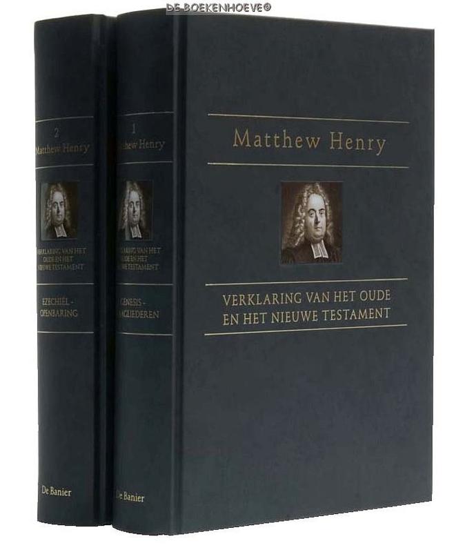 HENRY, Matthew - Verklaring van het OT. + NT. 2 delen + gratis bijbelatlas