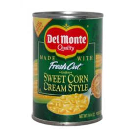 Cream style sweet corn / Del Monte / 425 gram