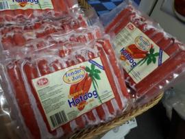 Tender Juicy Hotdog with cheese / 500 gram