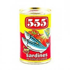Sardines Red hot / 555 / 155 gram