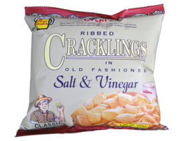 Salt & Vinegar Crackling / Oishi / 50 gram