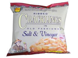 Salt & Vinegar Crackling / Oishi / 50 gram