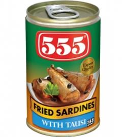Sardines Tausi / 555 / 155 gram
