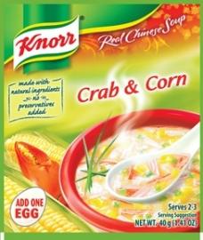 Crab and Corn / Knorr / 60 gram