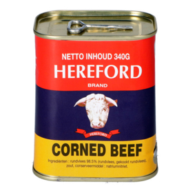 Corned beef / Hereford / 340 gram
