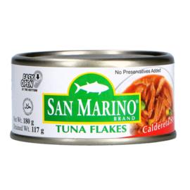 Tuna flake - Caldereta / San marino / 180 gram