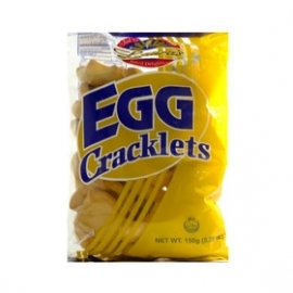 Egg cracklets / Laura's / 150 gram