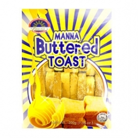 Manna Buttered Toast / Laura's / 200 gram