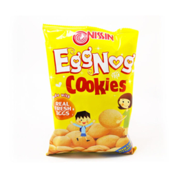 Eggnog Cookies / Nissin / 130 gram