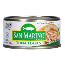 Tuna flakes - Calamansi / San marino / 180 gram