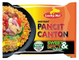 Pancit Canton Sweet-Spicy / Lucky Me / 60 gram