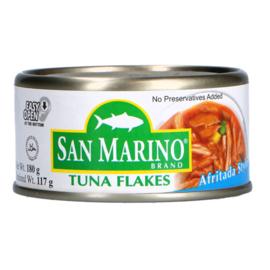 Tuna flakes - Afritada / San Marino / 180 gram