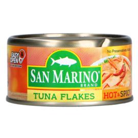 Tuna flakes - Hot & Spicy / San marino / 180 gram