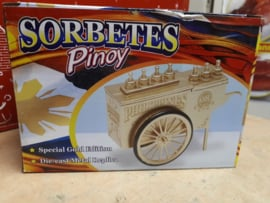 Philippine Sorbetes Cart - Special Edition (Gold)