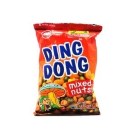 Hot and Spicy mixed Nuts / Ding Dong / 100 gram