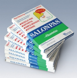 Pain Relieving Patch / Salonpas / 10 patches