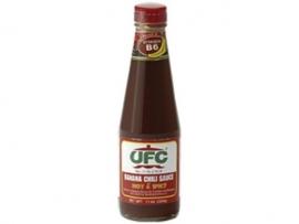 Banana Sauce Spicy / UFC / 340 gram