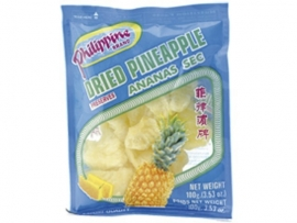 Dried Pineapple / Philippine Brand / 100 gram