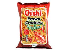 Prawn Crackers Spicy / Oishi / 95 gram