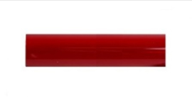 Rode kleurhuls t.b.v. 8W TL buis, lengte 288 mm