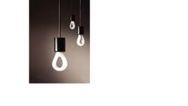Raindrop lamphouder/plafondplaat E27, zwart, 60 cm
