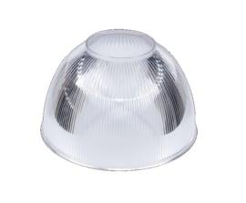 Polycarbonaat Lexalite kap, helder, Ø 315 mm