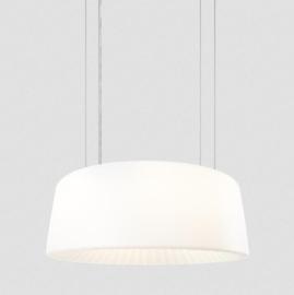 Wever & Ducré hanglamp Macbeth wit,  groot formaat Ø 90 cm
