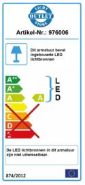 LED onderbouw- en wandverlichting 77 cm kantelbaar, 4000K natuurlijk wit licht