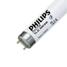 Philips TL buis 18W/840 natuurlijk wit (4000K)