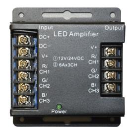 RGB LED versterker max. 216W