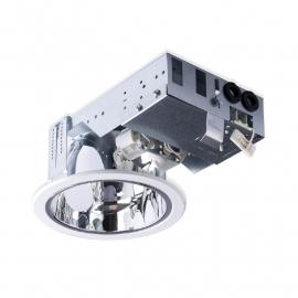 Downlighter 2x26W wit incl. Philips PL-C lichtbronnen