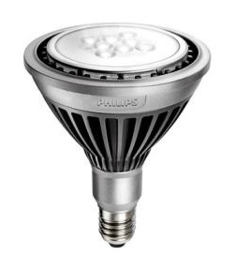 Philips MASTER LEDspot PAR38, 18W/25° (=100W) E27 2700K