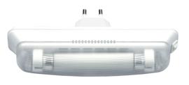 Oriëntatieverlichting 5W, wit, inclusief 2 TL buisjes