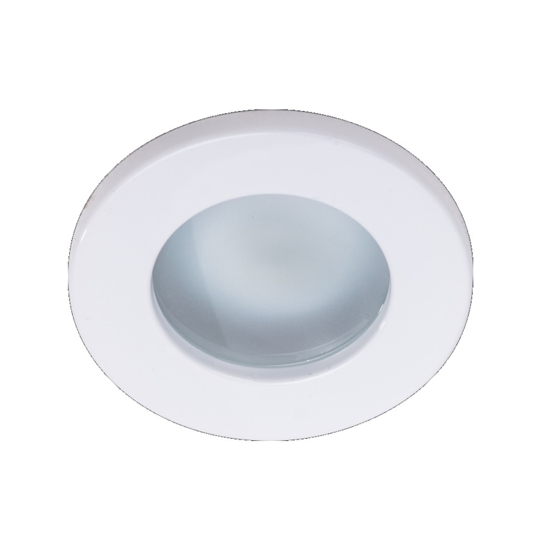 Waterdichte (IP65) badkamer spot GU10, wit