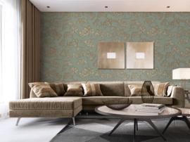 Dutch Wallcoverings Wall Fabric Pine Tree Behang WF121013