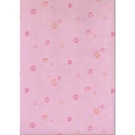 Roze Bloemen Behang 76438