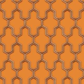 Dutch Wallcoverings Wall Fabric Geometric Behang WF121026