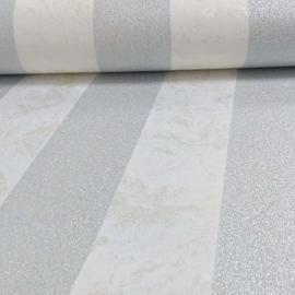 Dutch Carat Creme Beige Grijs Glitter Strepen Behang 13346-30